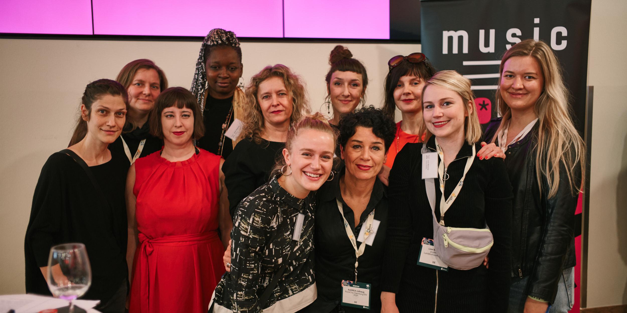 Music Women Germany: 200 Musikfrauen* bei Gründung auf dem RBF!