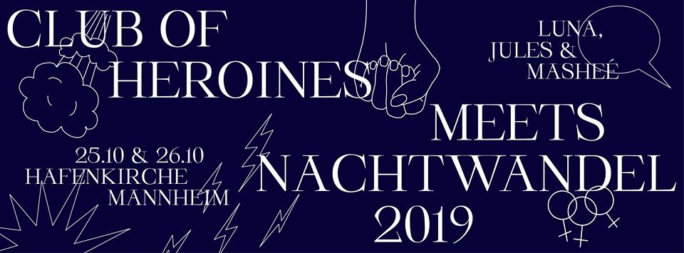 musicBWwomen presents: Club of Heroines am 25. und 26. Oktober