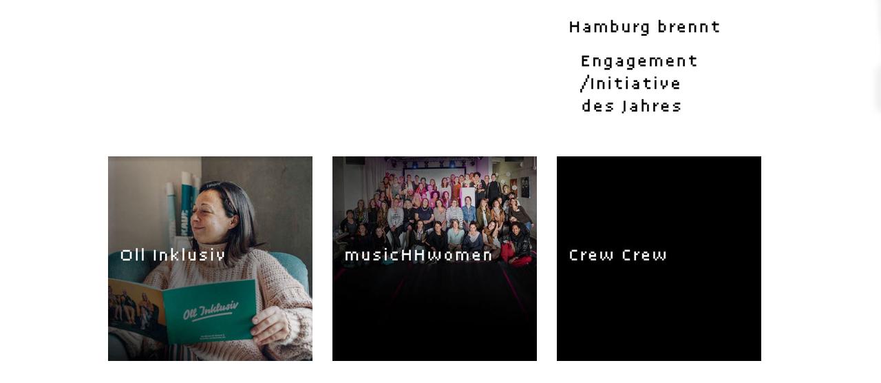 Die musicHHwomen sind nominiert für den Hamburger Musikpreis 2019!