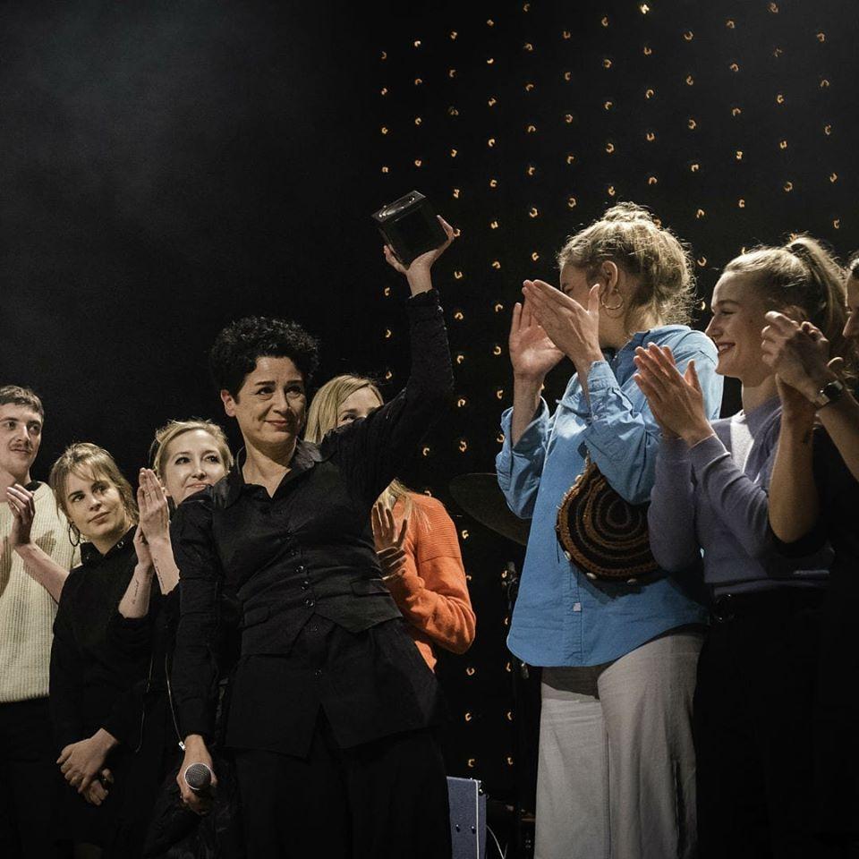 """19.11.2019 musicHHwomen erhalten Hamburger Musikpreis 2019 in der Kategorie """"Hamburg brennt"""""""