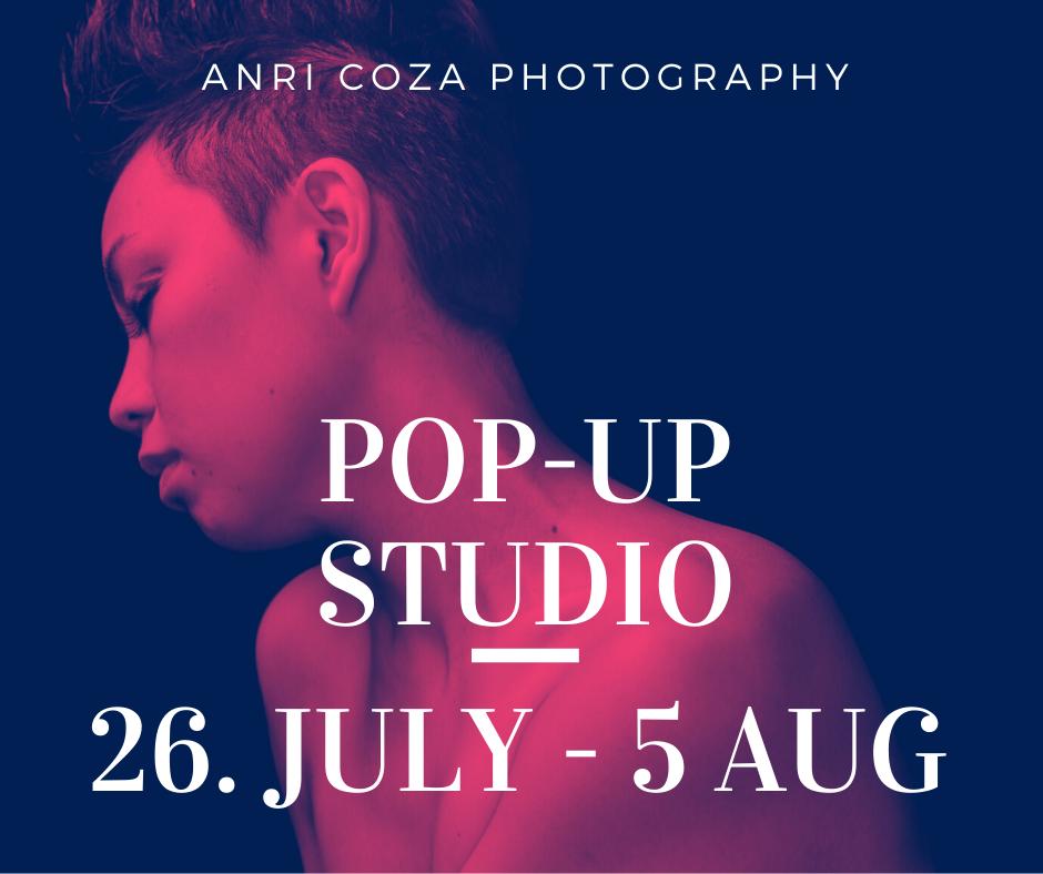 Pop-Up Fotostudio mit Anri Coza – sichert euch einen Slot!