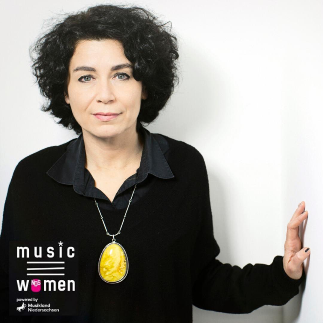 musicHHwomen-Gründerin Andrea Rothaug im musicNDSwomen Livestream Talk am 09.07.