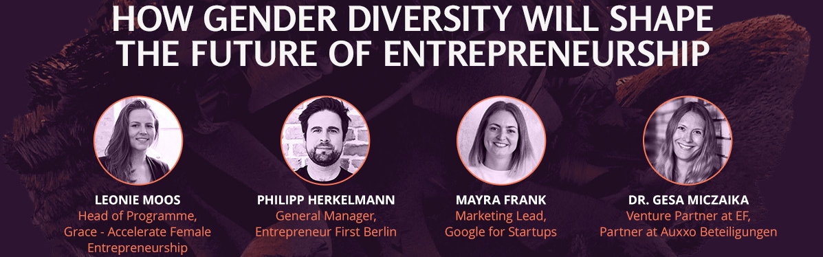 "Panel Diskussion: ""How Diversity will shape the future of Entrepreneurship"" am 27. Juli!"