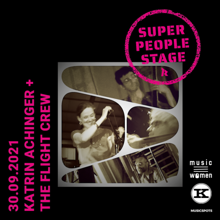 SUPER PEOPLE STAGE: Katrin Achinger & the Flight Crew